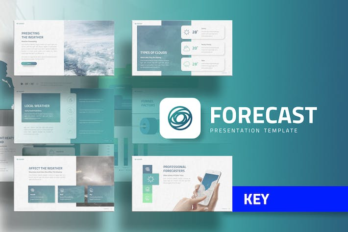 Thumbnail for Forecast - Education Keynote Template