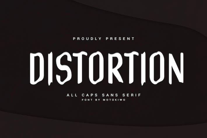 Thumbnail for Distorsion - Ondulé Sans Serif