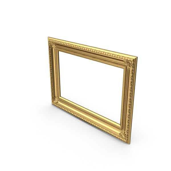 Cover Image for Baroque Picture Frame