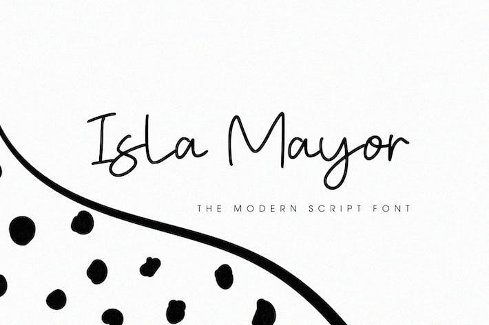 Thumbnail for Isla Mayor - Police de caractères de script moderne