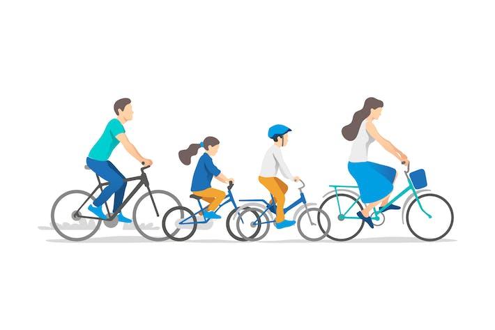 Thumbnail for Vacaciones en familia activas en bicicletas