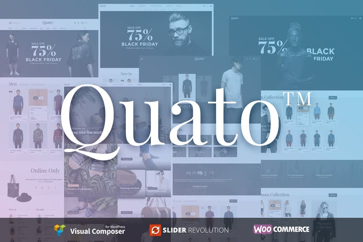 Thumbnail for Quato | Responsive WooCommerce WordPress Thème