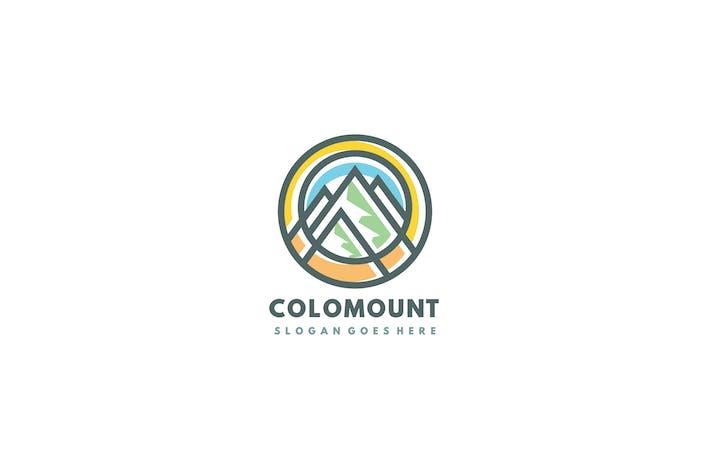 Thumbnail for Logo de las montañas coloridas