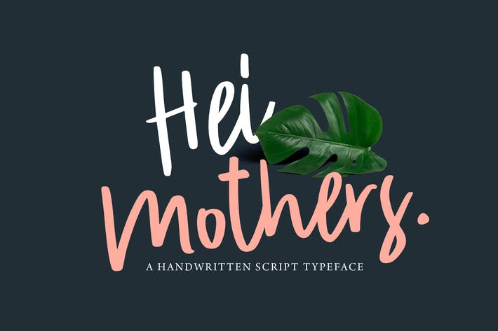 Thumbnail for HeiMothers Typeface