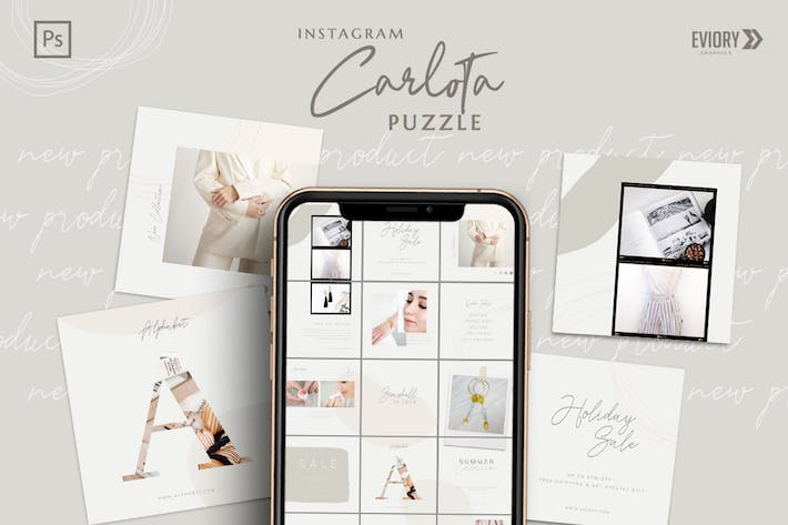 Thumbnail for Carlota - Instagram PUZZLE