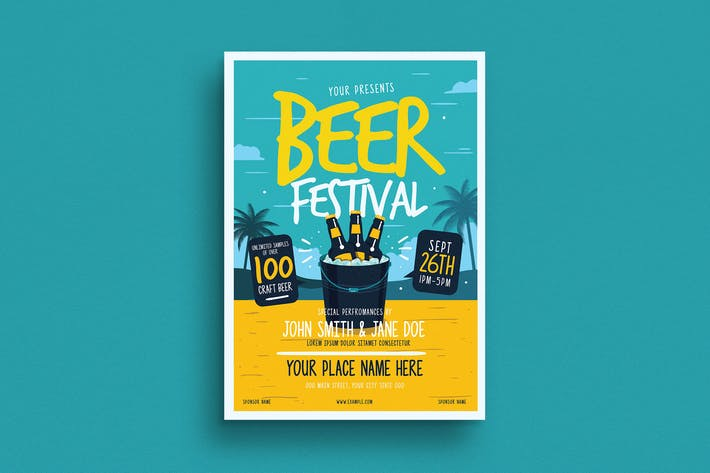 Thumbnail for Summer Beer Festival Flyer