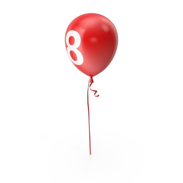 Number 8 Balloon