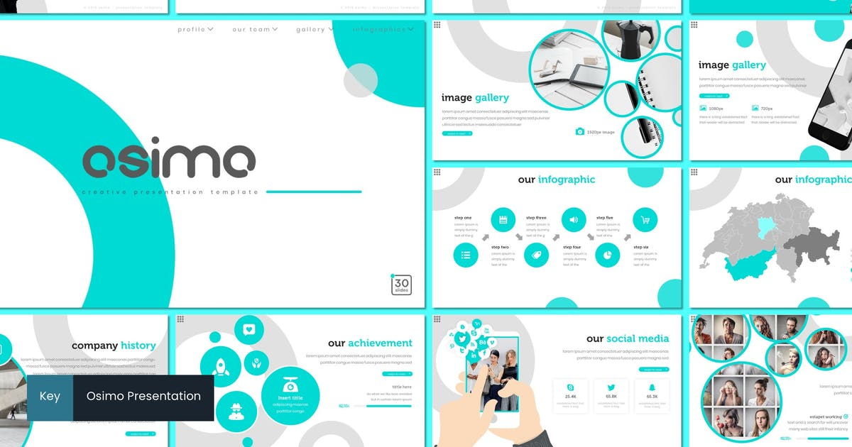 Download Osimo - Keynote Template by inspirasign