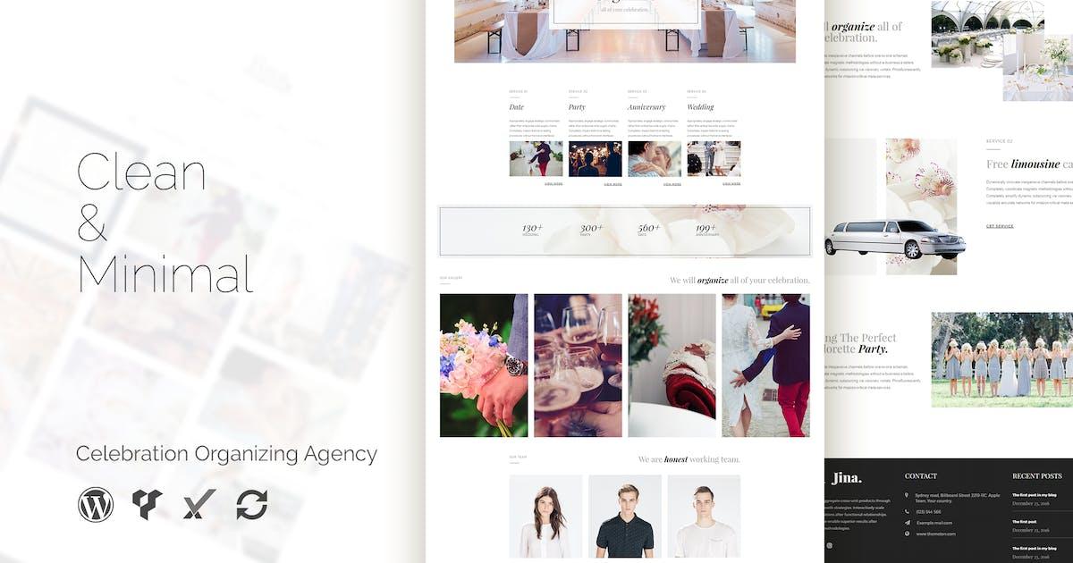 Download Jina - Celebration Agency WordPress Theme by Unknow