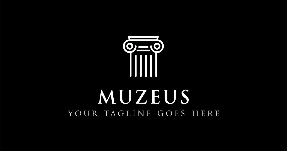 Download Muzeus - Museum Logo Design by ThemeWisdom