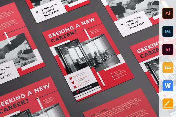 Thumbnail for Recruitment Firm Flyer