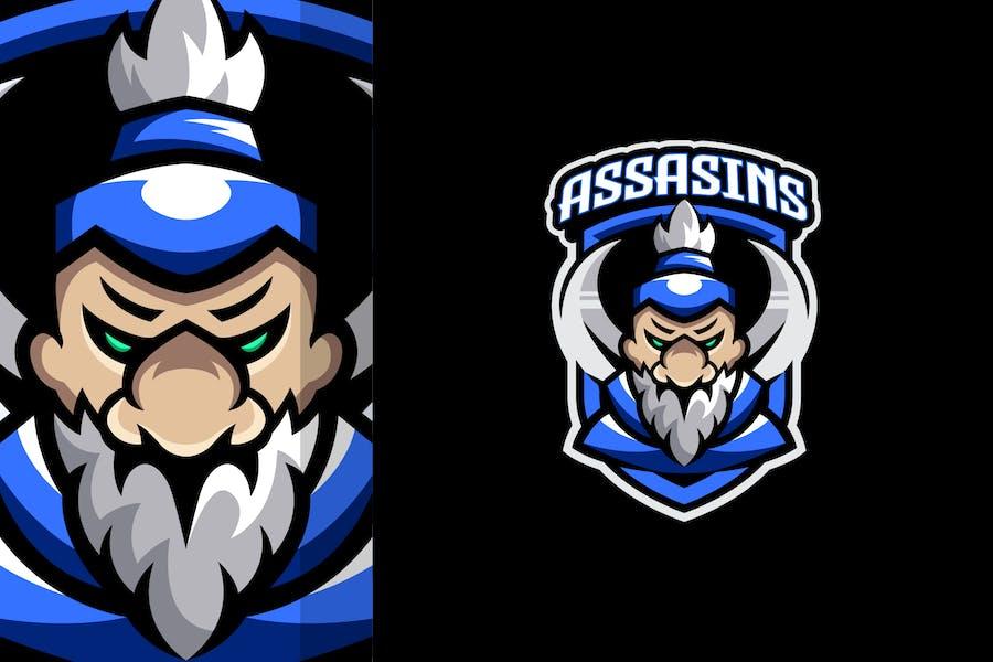 Assasin Master Logo Template