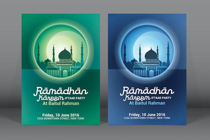 Thumbnail for Ramadan Kareem Iftaar Party Flyer
