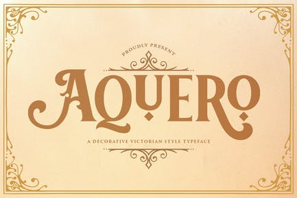Aquero - Fuente estilo victoriano