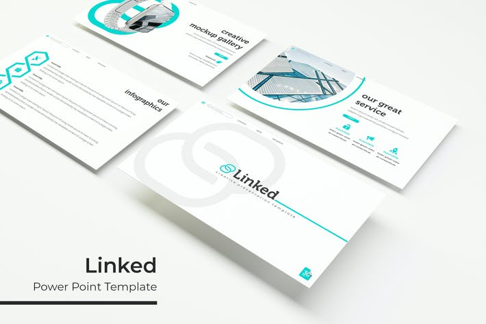 Thumbnail for Linked - Powerpoint Template