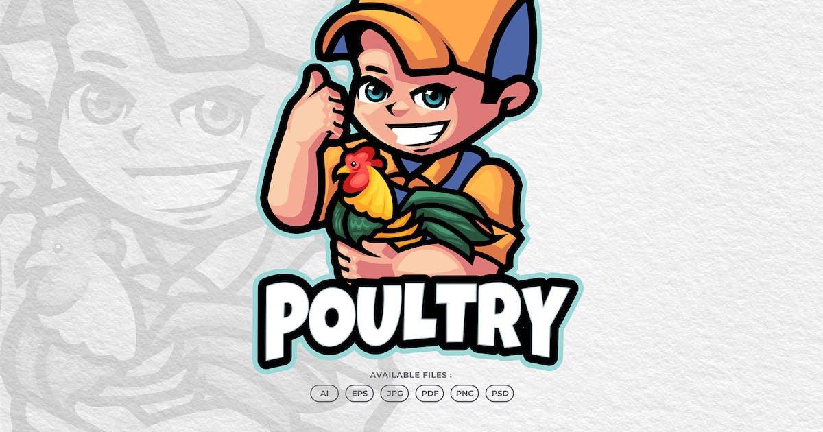 Download Poultry Farm Mascot Logo by yogaperdana7