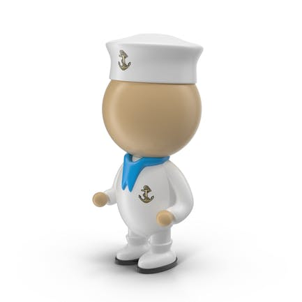 Cartoon Sailor Character