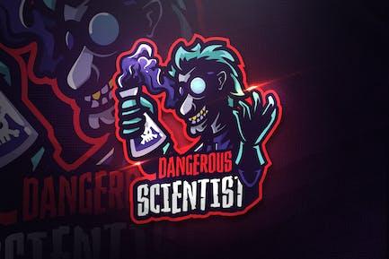 Dangerous Scientist - Mascot & Esport Logo