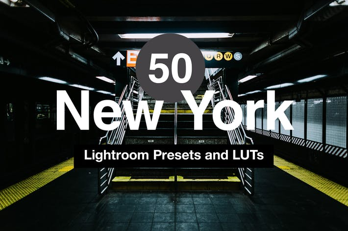 Thumbnail for 50 New York Lightroom Mobile and Desktop Presets