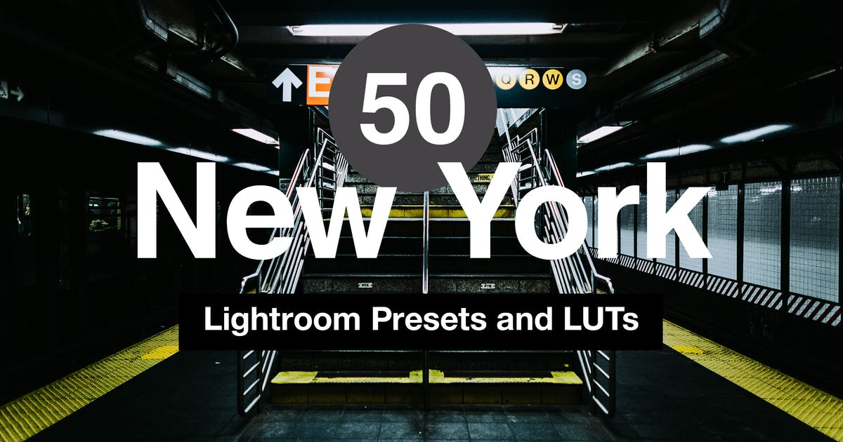 Download 50 New York Lightroom Mobile and Desktop Presets by sparklestock
