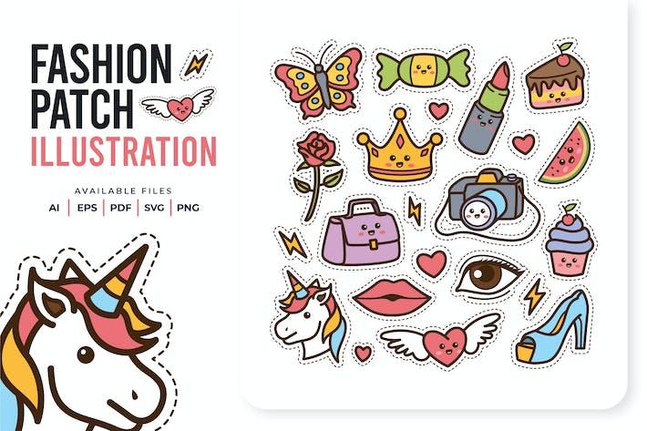 Fashion Patch Doodle