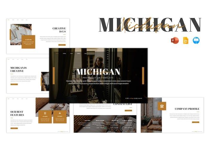 Thumbnail for Мичиган Шаблон представления