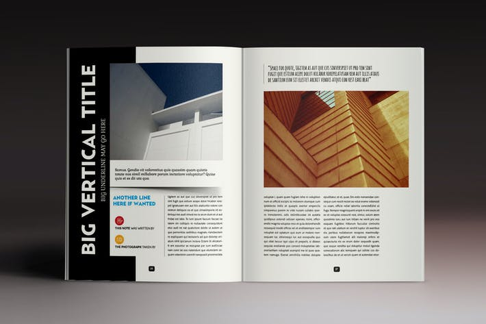 Thumbnail for Design Magazine 5 Indesign Template