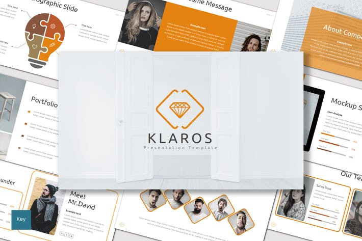 Cover Image For Klaros - Keynote Template