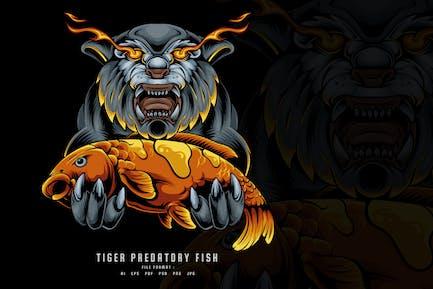Tiger Predatory Fish