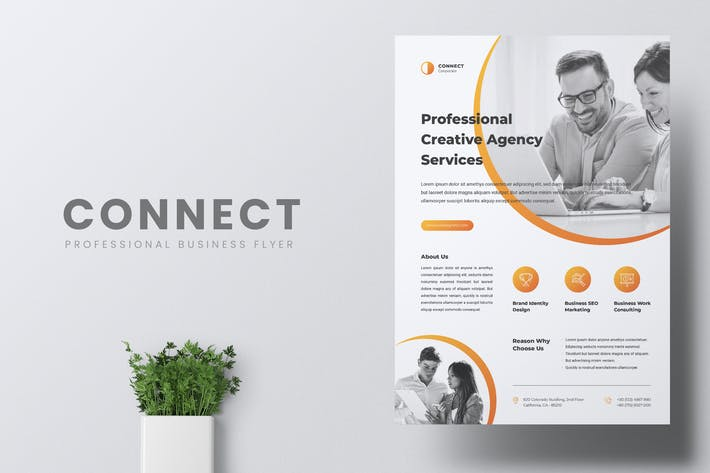Thumbnail for CONNECT Professional Business Flyer