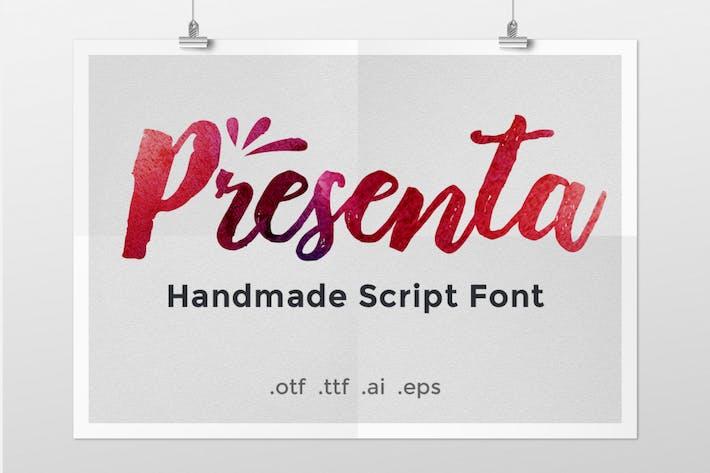 Presenta — Handgefertigte Schrift