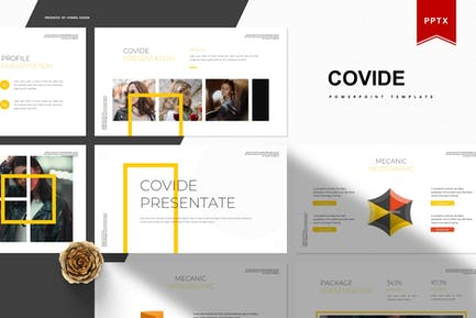 Covide   Powerpoint Template