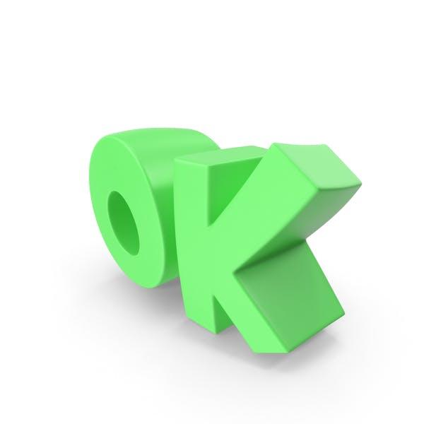 Thumbnail for Ok Text