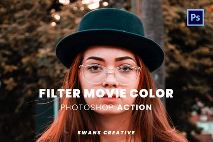 Filter Movie Color Photoshop Action