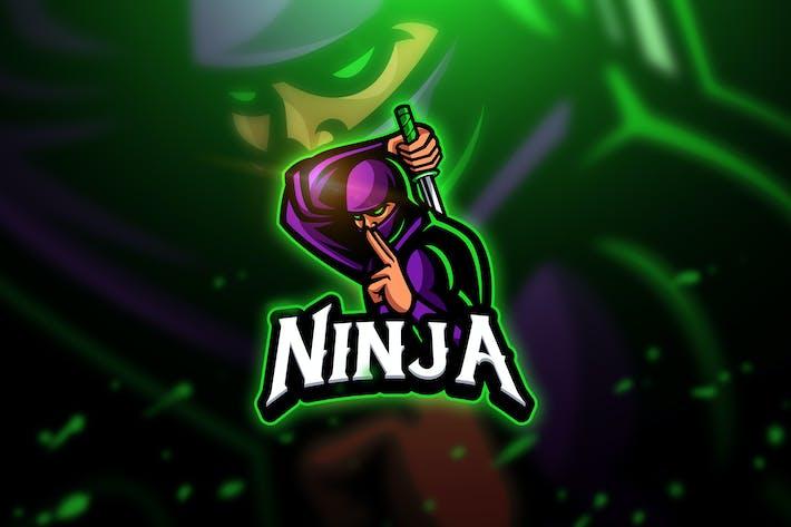 Thumbnail for Ninja 3 - Mascot & Esport Logo