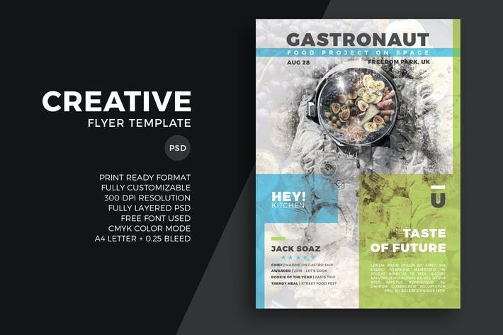 Thumbnail for Creative Flyer Template