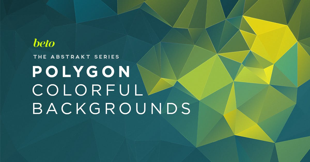 Download Polygon Abstract Backgrounds V3 by betoalanis