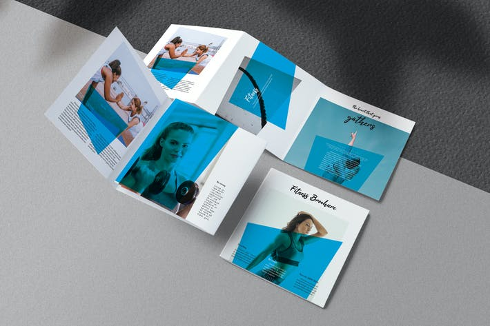 Cover Image For Fitness Square Brochure