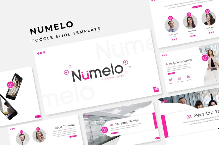 Thumbnail for Numelo - Google Slide Template