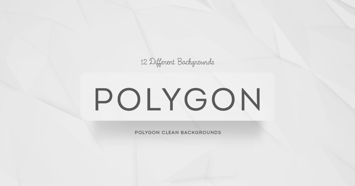 Download Polygon Clean Backgrounds by mamounalbibi