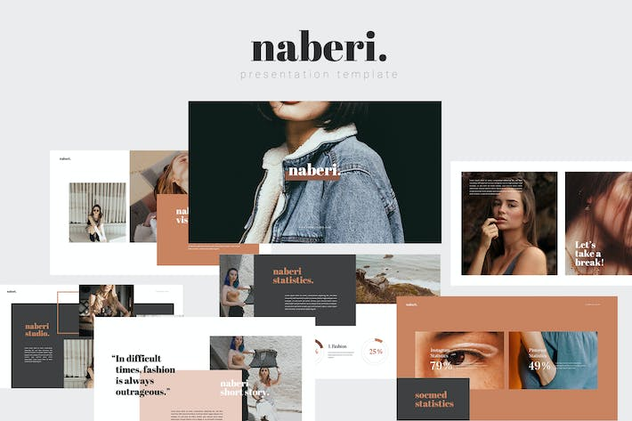 Thumbnail for Naberi Powerpoint Template