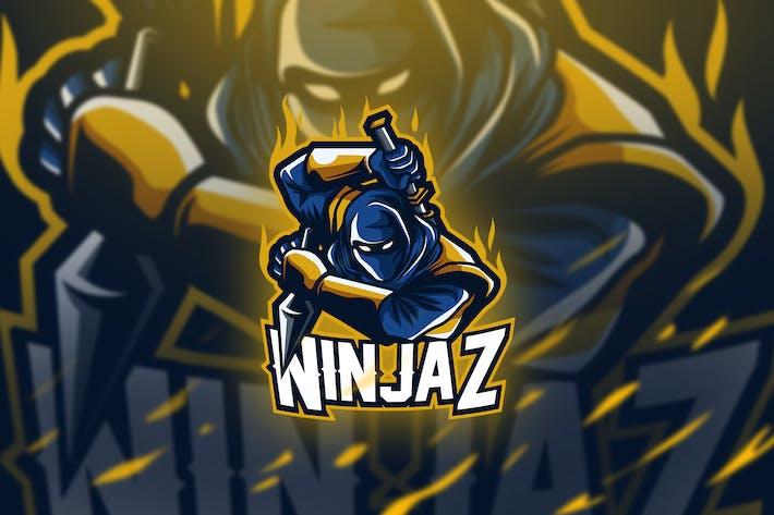 Thumbnail for ninjaz - Mascot & Esport Logo
