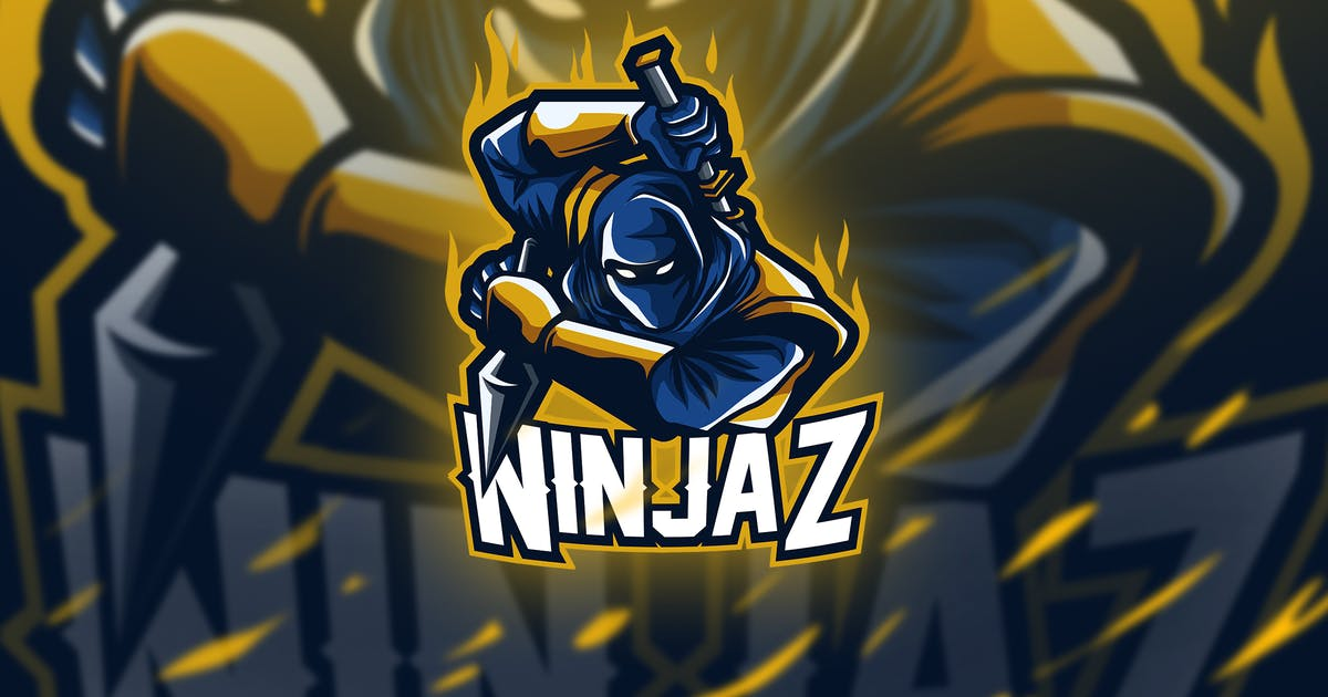 Download ninjaz - Mascot & Esport Logo by aqrstudio