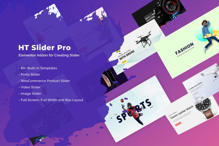 Thumbnail for HT Slider Pro For Elementor