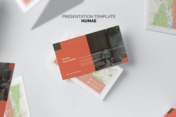 Thumbnail for Humae : Mobile Application Showcase Google Slides