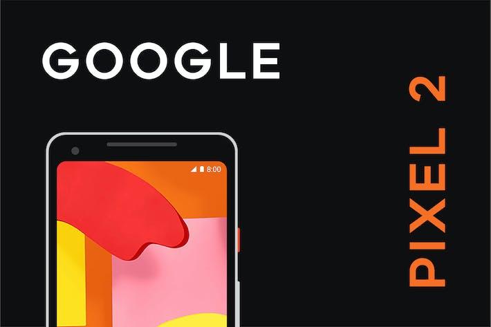 Thumbnail for Maqueta Vector de Google Pixel 2
