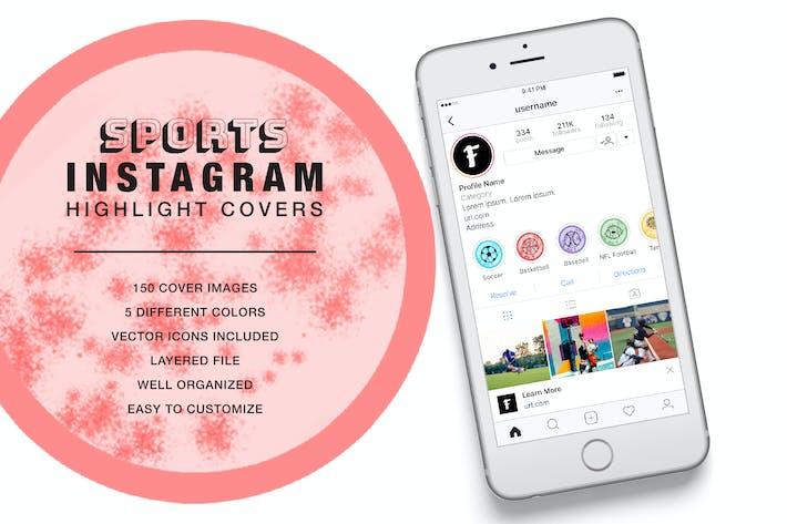 Thumbnail for Sport Instagram Highlight Cover Fleck