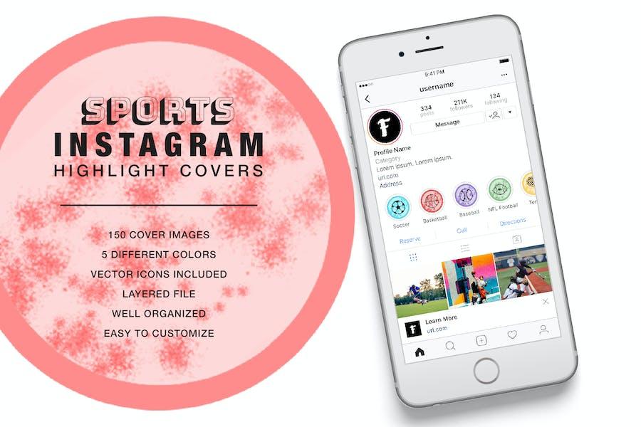 Sport Instagram Highlight Cover Stain