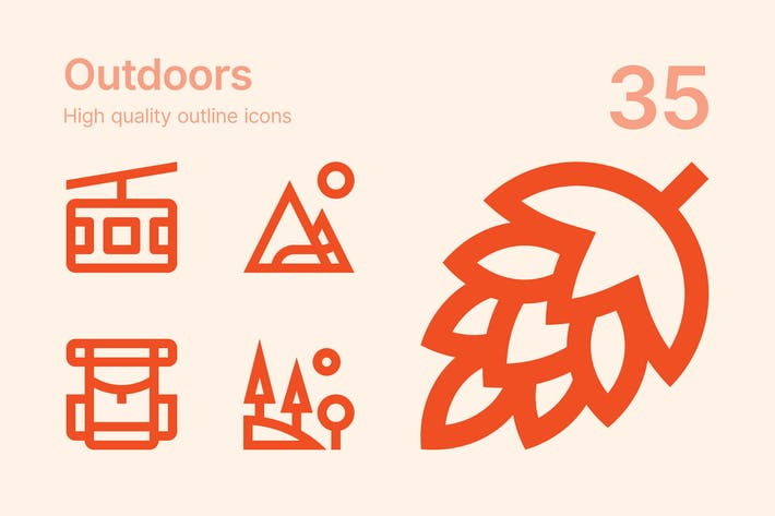 Thumbnail for Outdoors icons