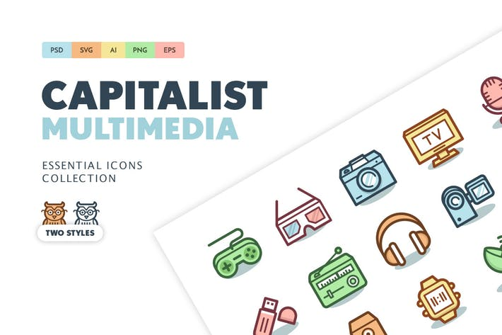 Thumbnail for Capitalist Icons: Technology and Multimedia